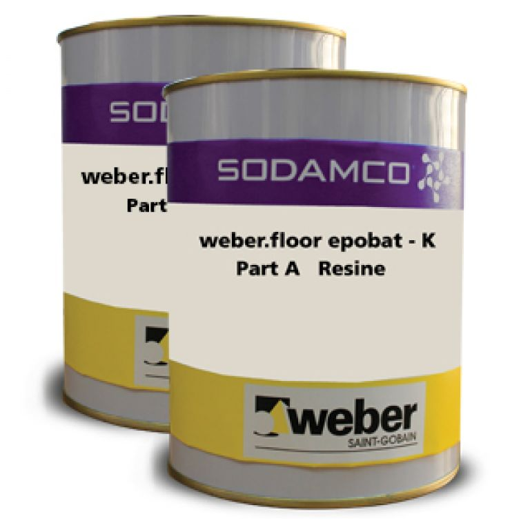 Solvent Free Epoxy Flooring System Weberfloor Epobat K Is A High Build Two Component Coating Specially Formulated To Be